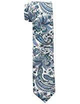 Original Penguin Men's Ares Floral Tie, Teal, One Size