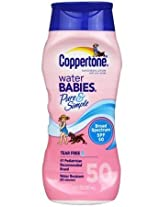 Coppertone Coppertone Water Babies Pure Simple Sunscreen Lotion Spf 50 Pack of 2 AD