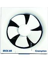 Crompton Greaves Brisk Air 250mm- 220/240V, 50Hz Exhaust Fan (White)