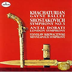 S.スクロヴァチェフスキ指揮 ショスタコーヴィチ:交響曲第5番他 の商品写真