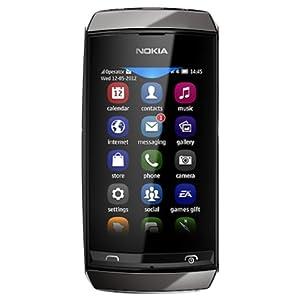 Nokia Asha 306 (Dark Grey)