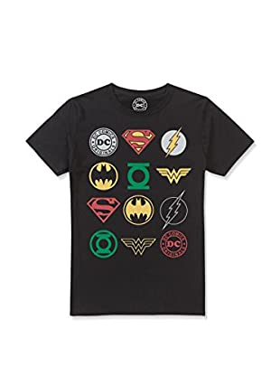 DC COMICS T-Shirt Manica Corta Originals Logos