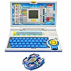 Super Combo English Learner Laptop And Spinning Top