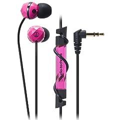 インナーイヤーヘッドホン(ピンク)[ATH-CKF303 PK] - audio-technica.