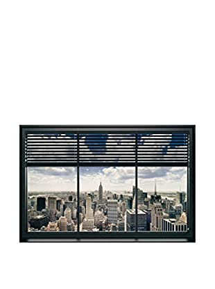 Artopweb Panel Decorativo Window Blinds 60x90 cm Multicolor