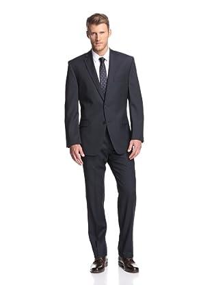 Calvin Klein Men's Malik Pinstripe Suit (Navy)