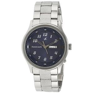 Fastrack Analog Blue Dial Men's Watch - NE3001SM02