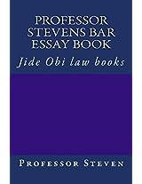 Professor Stevens Bar Essay Book: Jide Obi Law Books
