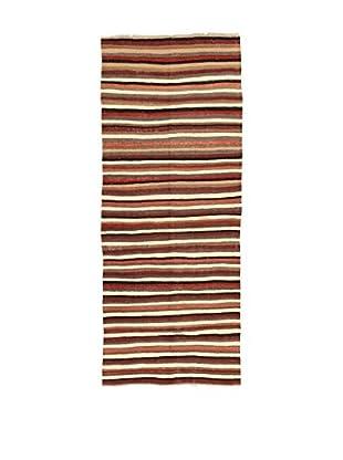Design Community By Loomier Teppich Kilim Caucasico mehrfarbig 134 x 327 cm