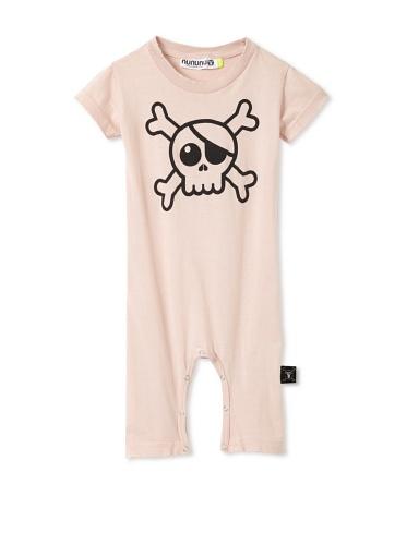 NUNUNU Baby Pirate Play Suit (Pink)