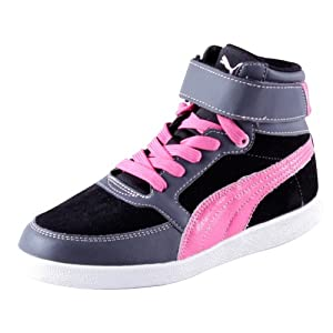 PUMA Skylaa Junior - dark shadow-magenta-black-lilac sachet