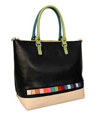 Davidelfín Bolso Gorka Bag (Negro / Beige)