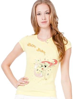 Custo Camiseta Twist Mermmaid (Amarillo)