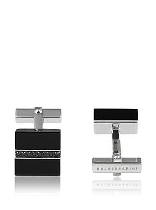 Baldessarini Manschettenknopf  rhodiniertes Silber 925