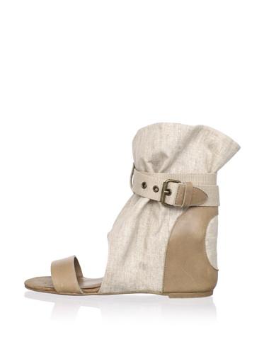 80%20 Women's Molly Open-Toe Boot (Wheat)