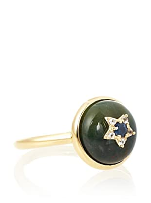 Elizabeth and James Bloodstone Victorian Star Small Ring
