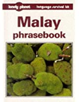 Malay Phrasebook (Lonely Planet Language Survival Kits)