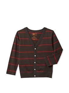 Soft Clothing for Children Boy's Lyon Cardigan (Grey)