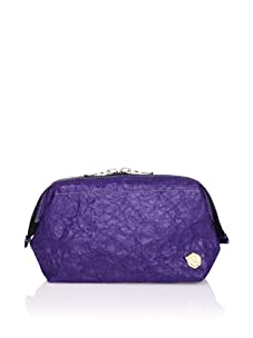 Kamiko Japanese Paper Zippered Pouch (Purple)