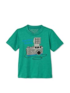 Lords of Liverpool Kid's Photog T-Shirt (Green)