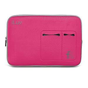 Iluv Sleeve For 15-Inch Macbook Pro, Macbook Air And 15-Inch Laptops - Pink (Ibg2020Pnk)