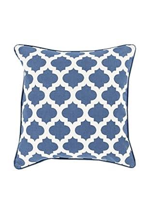 Surya Moroccan Printed Lattice Pillow