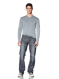 Earnest Sewn Men's Fulton Classic Straight Leg Jean (Carter)