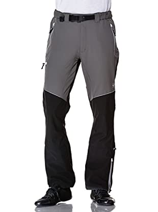Black Wolf Pantalone Stretch Con Toppe (Nero Marsh)