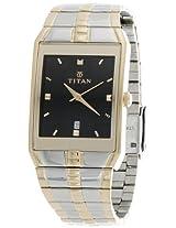 Titan Karishma Analog Black Dial Men's Watch - NE9151BM02