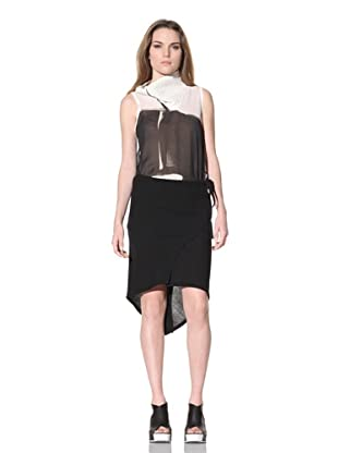 Ann Demeulemeester Women's Layered Skirt (Black)
