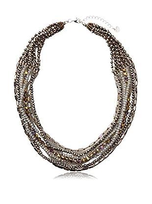 Nakamol Czech Crystal Collar Necklace