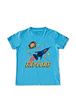 National Geographic Camiseta Explore (Turquesa)