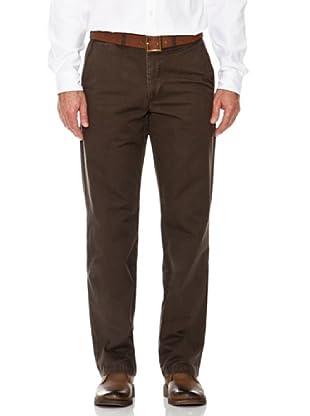 Dockers Pantalón Comfort Básico (marrón)