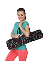 DG Sports Fashion Tote Bag Zippered Yoga Mat Carryall with Shoulder Strap