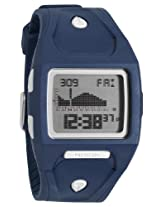 Nixon Lodown Watch - Men's Navy, One Size