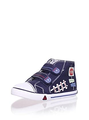 Pablosky Kid's High-Top Sneaker (Navy)