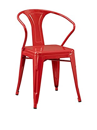 Modway Promenade Dining Armchair, Red
