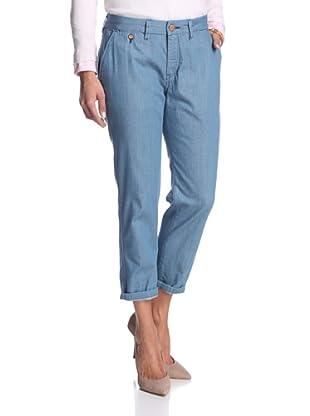 Levi's Women's Slim Chino Jean (Indigo)