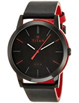 Titan Youth Analog Black Dial Women's Watch -  9954KL04J
