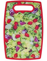 Attractive Vegetables / Fruits Print Colour Chopping Cutting PVC Plastic Board, Size : 14.5 x 9 Inch (Colours & Designs as per Availability)