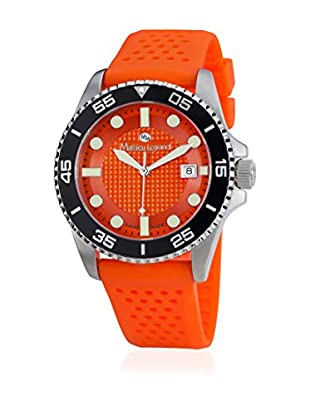 Mathieu Legrand Reloj con movimiento cuarzo suizo Man Naranja 42.0 mm