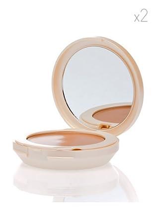 HQ Kit De 2 Productos Perfección Total Base Maquillaje Compacta Para Pieles Normales Spf 8 Color 21