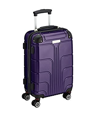 Luggagezone Hartschalen Trolley Hard Shell Carry On, Upright lila 57 cm