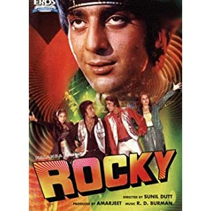 Rocky (Hindi Movie)- By Sunil Dutt (Director), Sanjay Dutt (Actor), Tina Munim (Actor)