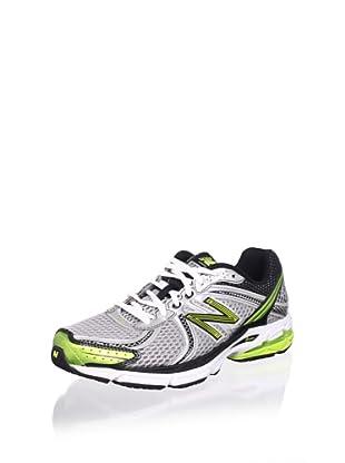 New Balance Men's M770v2 Running Shoe (Silver/Lime)