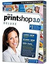 Brand New The Print Shop 3.0 Deluxe Dsa (Works With: WIN XP VISTA WIN 7)