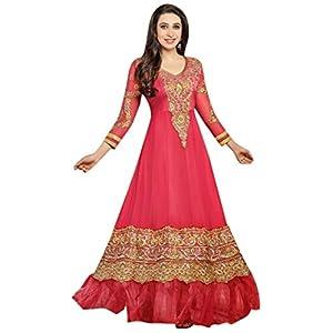 Style UP 21 Karishma Kapoor Anarkali Suit - Pink