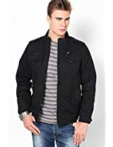Black Casual Jackets (Smart Fit)