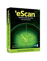 eScan Internet Security Suite With Cloud Security 3 User