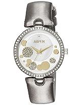Aspen Analog White Dial Women's Watch - AP1888